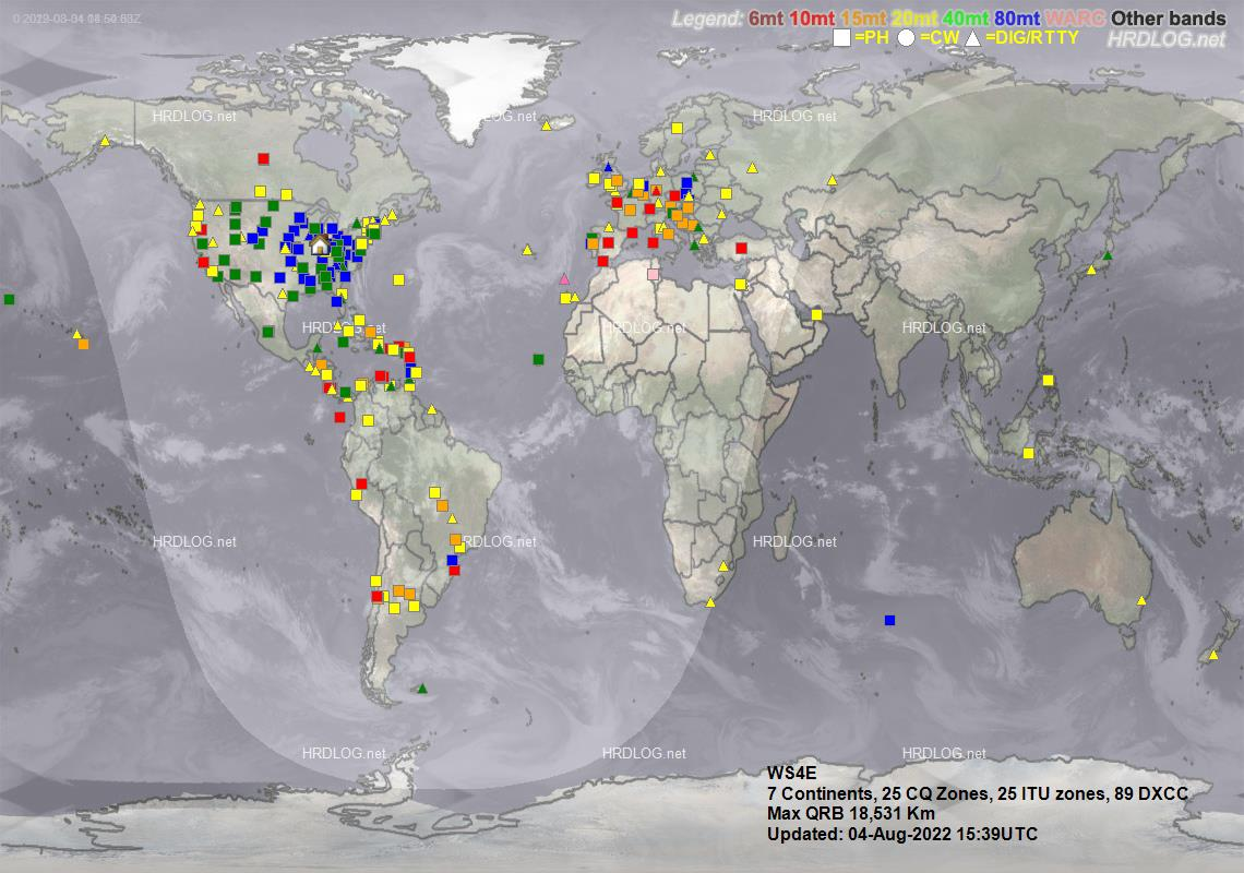 Recent QSO Map